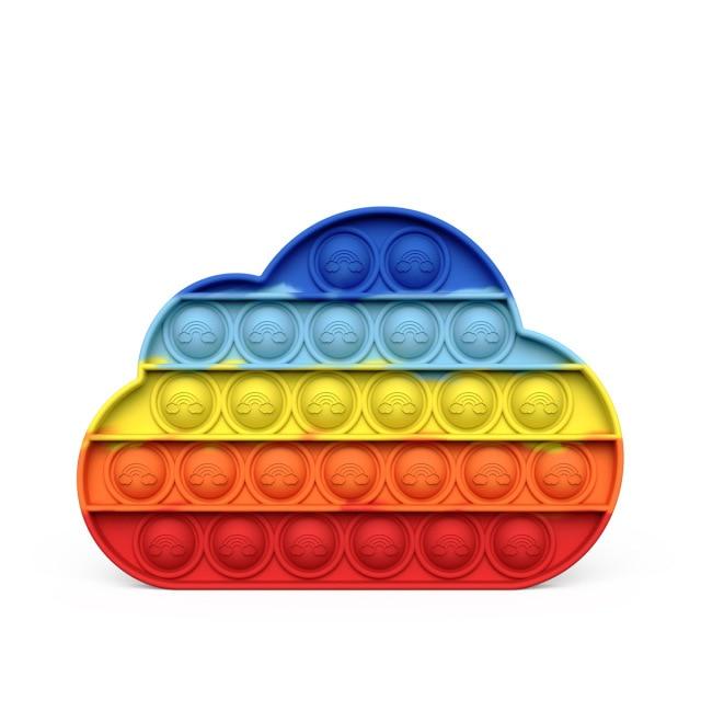 pop it cloud fidget toys 4301 - Wacky Track