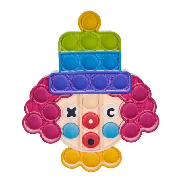 pop it clown fidget toys 7538 - Wacky Track