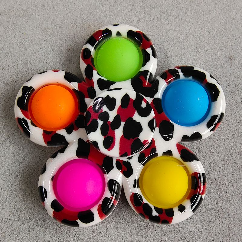 pop it colorful spinner 5 sides anti stress fidgets toys 3182 - Wacky Track