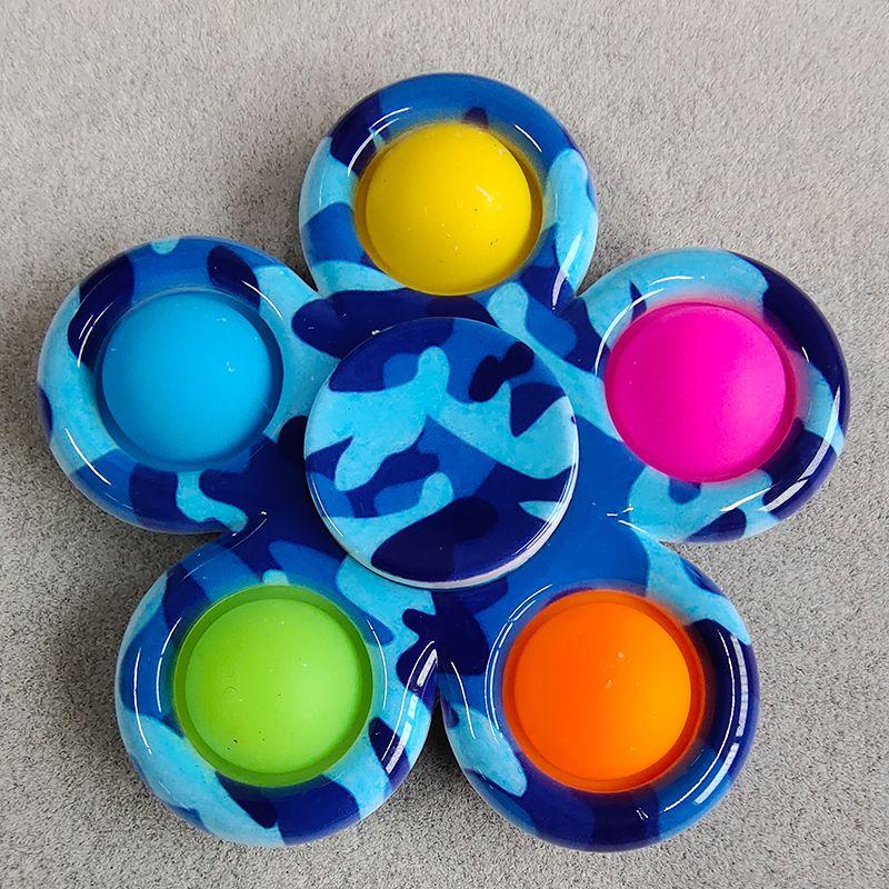 pop it colorful spinner 5 sides anti stress fidgets toys 4107 - Wacky Track