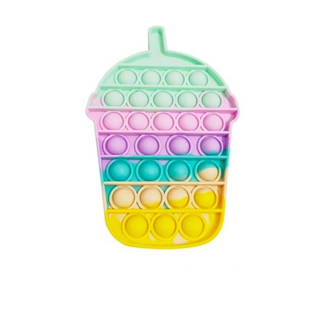 pop it colorful chesnut shape fidget toy 6844 - Wacky Track