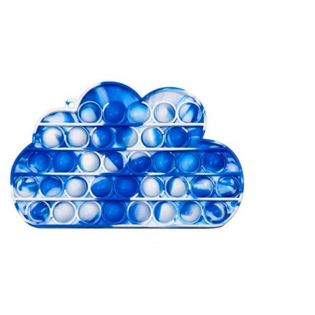 pop it colorful cloud shape fidget toy 5396 - Wacky Track