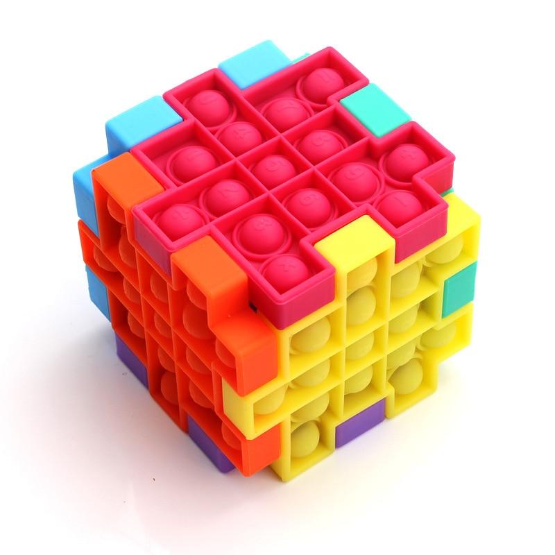pop it cube fidget toys 6279 - Wacky Track