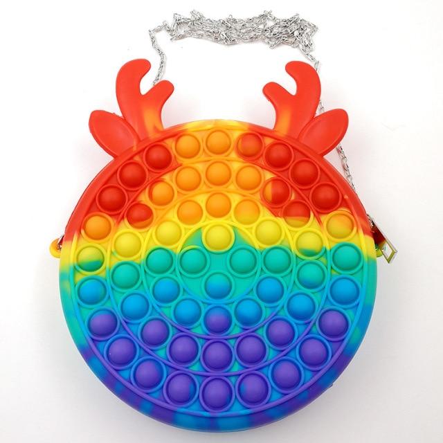 pop it cute bag animal shape fidget toy 2069 - Wacky Track