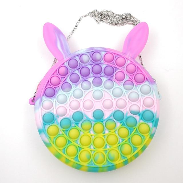 pop it cute bag animal shape fidget toy 2936 - Wacky Track