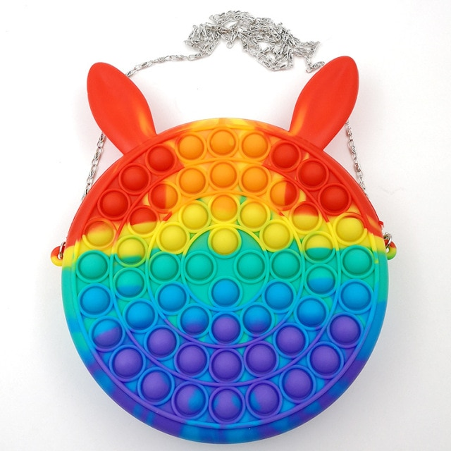pop it cute bag animal shape fidget toy 5189 - Wacky Track