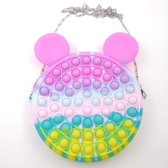 pop it cute bag animal shape fidget toy 5929 - Wacky Track