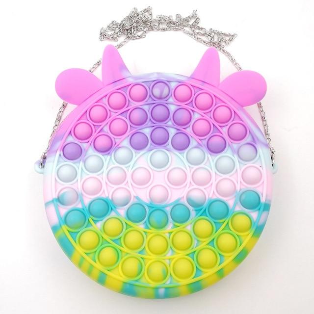 pop it cute bag animal shape fidget toy 6839 - Wacky Track