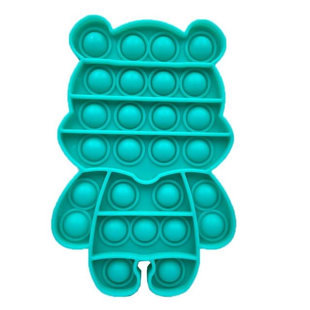 pop it cute bear shape fidget toys 5678 - Wacky Track