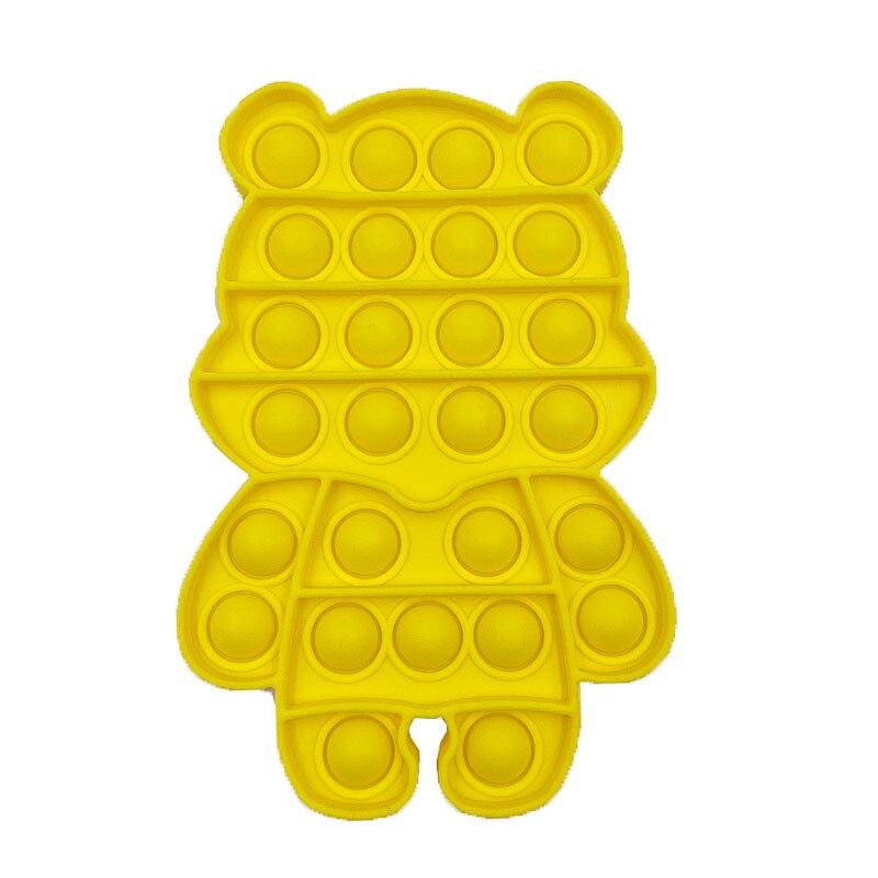 pop it cute bear shape fidget toys 7744 - Wacky Track