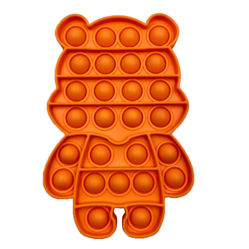pop it cute bear shape fidget toys 8925 - Wacky Track