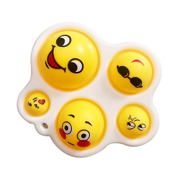 pop it cute faces fidget toy 3904 - Wacky Track