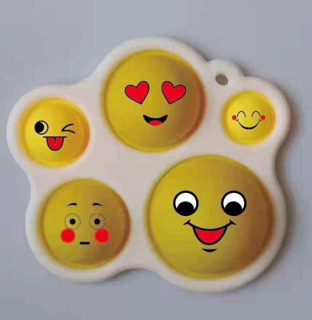 pop it cute faces fidget toy 4017 - Wacky Track