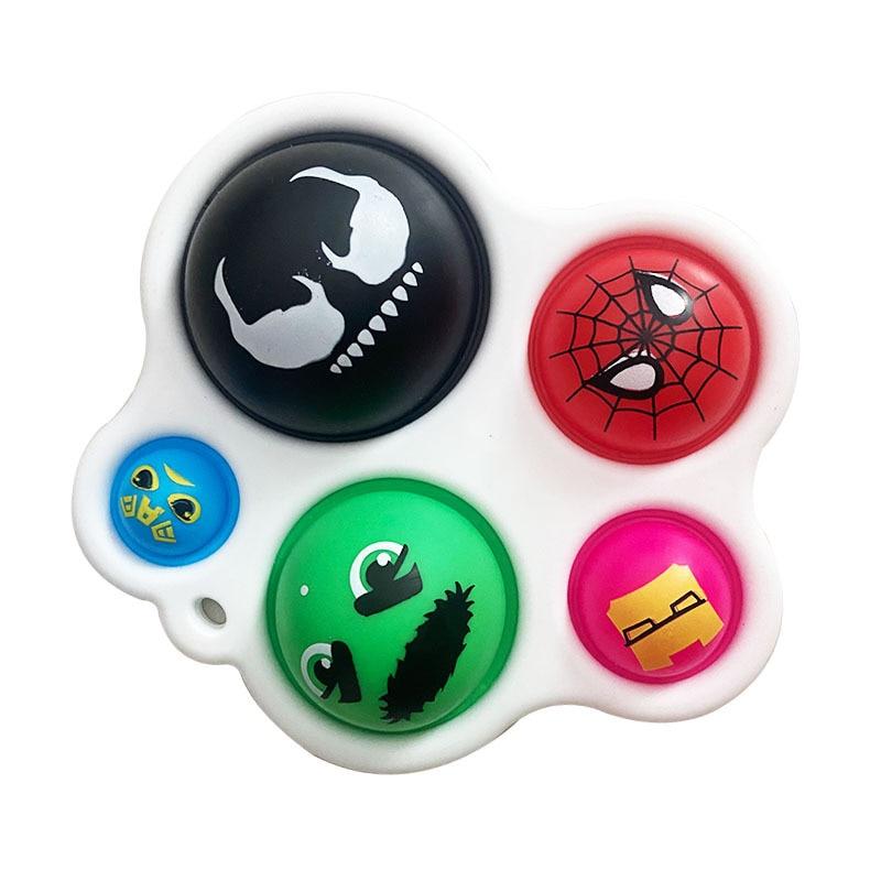pop it cute faces fidget toy 5096 - Wacky Track