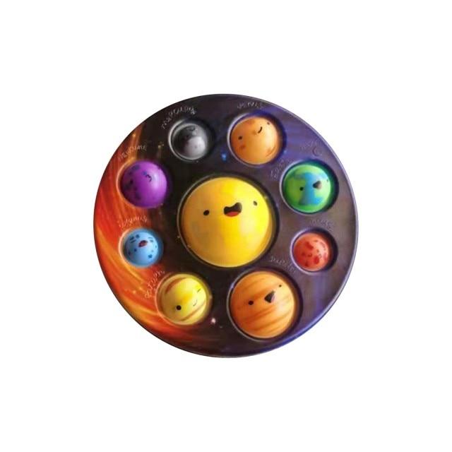 pop it cute solar system fidget toy 6267 - Wacky Track