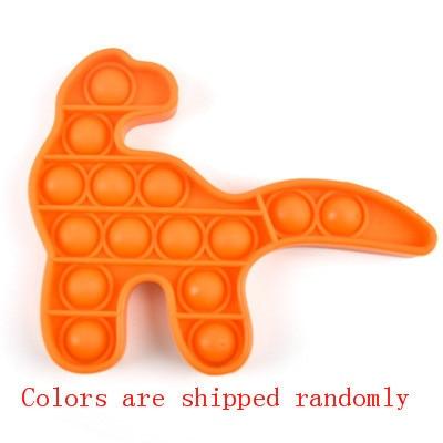 pop it dinosaur fidget toy 8395 - Wacky Track