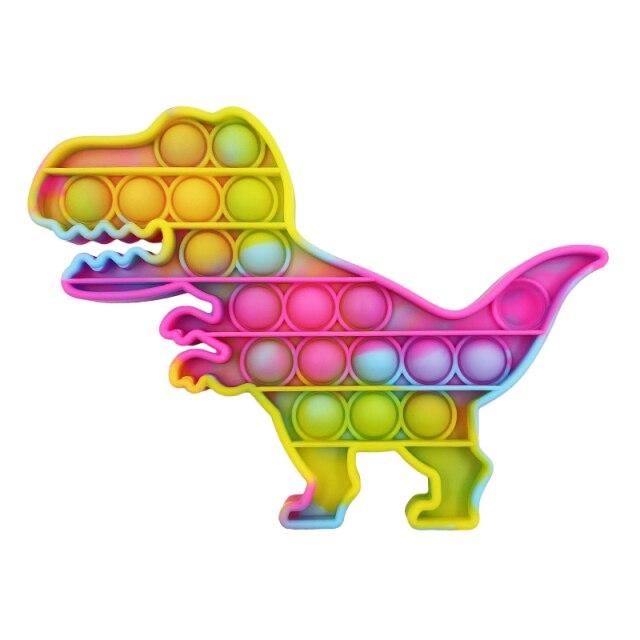 pop it dinosaur fidgets toys 1997 - Wacky Track