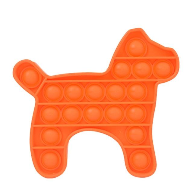 pop it dog shape fidgets toys 2720 - Wacky Track