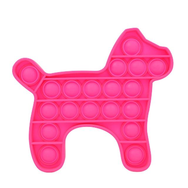 pop it dog shape fidgets toys 4039 - Wacky Track