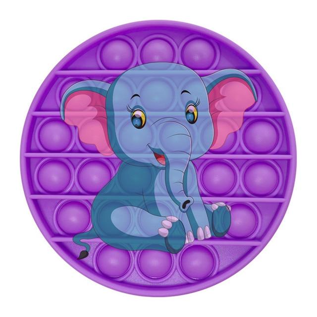 pop it elephant image fidget toy 1295 - Wacky Track