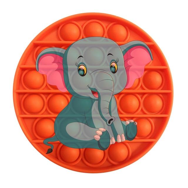 pop it elephant image fidget toy 2436 - Wacky Track