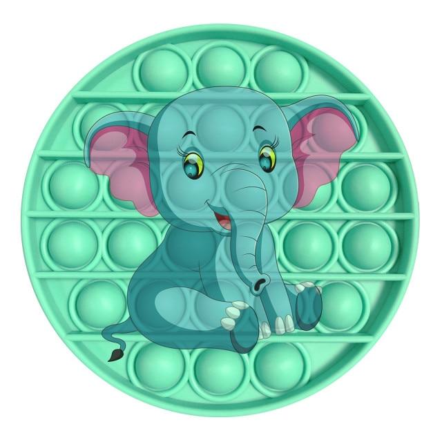 pop it elephant image fidget toy 3211 - Wacky Track