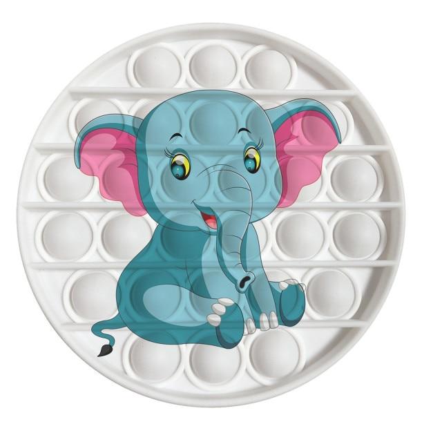 pop it elephant image fidget toy 6302 - Wacky Track