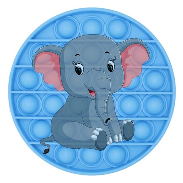 pop it elephant image fidget toy 7508 - Wacky Track