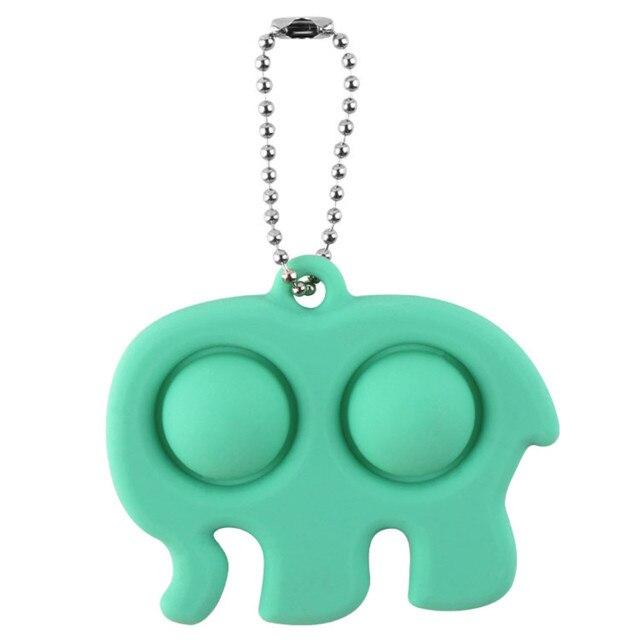 pop it elephant keychain fidget toy 1066 - Wacky Track