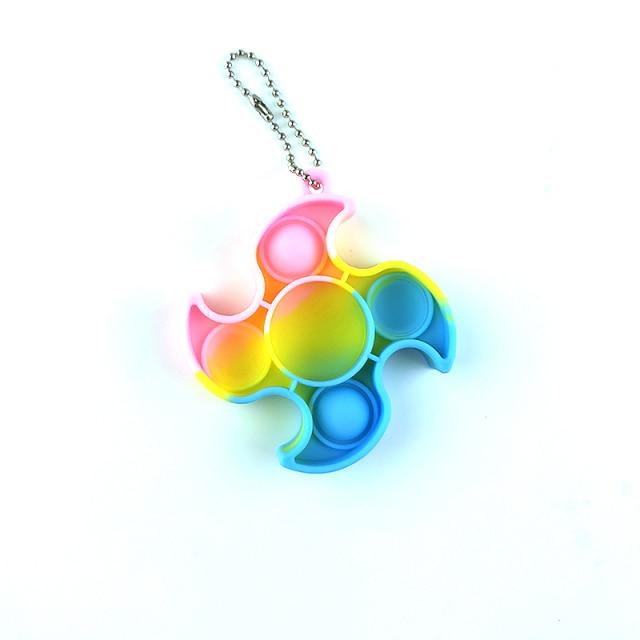 pop it fan keychain fidget toy 5190 - Wacky Track