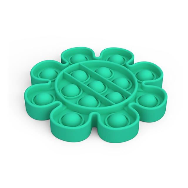 pop it flower anti stress fidget toy 4590 - Wacky Track