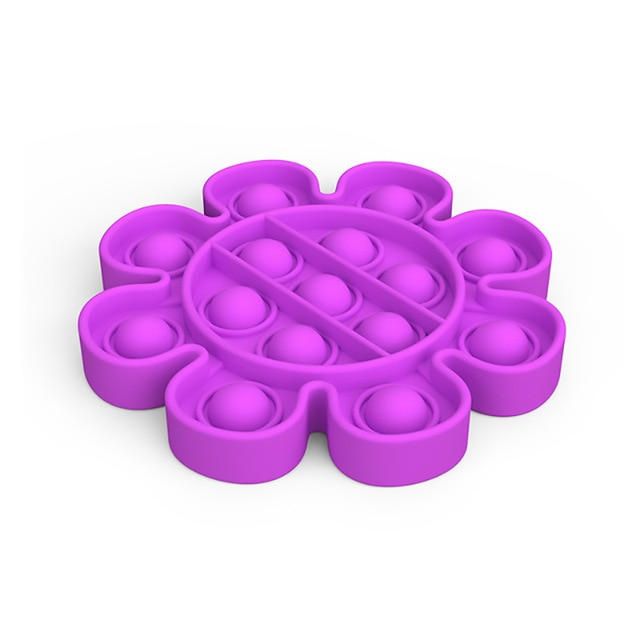 pop it flower anti stress fidget toy 5671 - Wacky Track