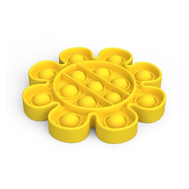 pop it flower anti stress fidget toy 5992 - Wacky Track