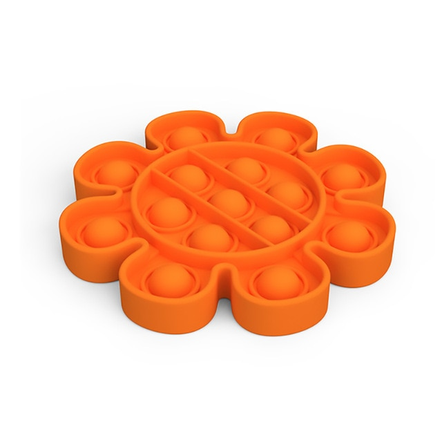 pop it flower anti stress fidget toy 6098 - Wacky Track