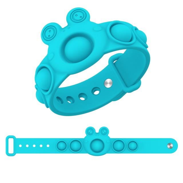 pop it frog bracelet fidget toy 2254 - Wacky Track