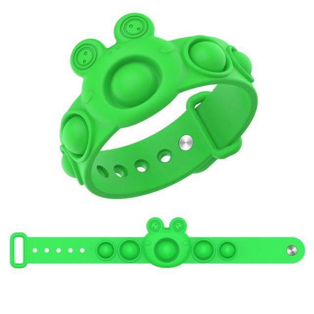 pop it frog bracelet fidget toy 8741 - Wacky Track