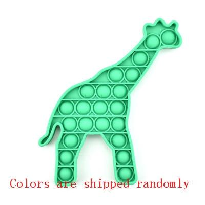 pop it giraffe fidget toy 5667 - Wacky Track
