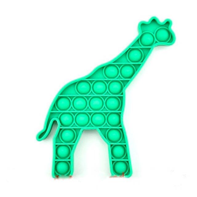 pop it giraffe fidget toy 6414 - Wacky Track