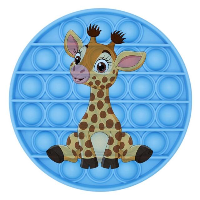 pop it giraffe image fidget toy 3115 - Wacky Track