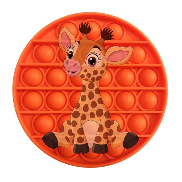 pop it giraffe image fidget toy 3139 - Wacky Track