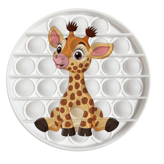 pop it giraffe image fidget toy 5387 - Wacky Track