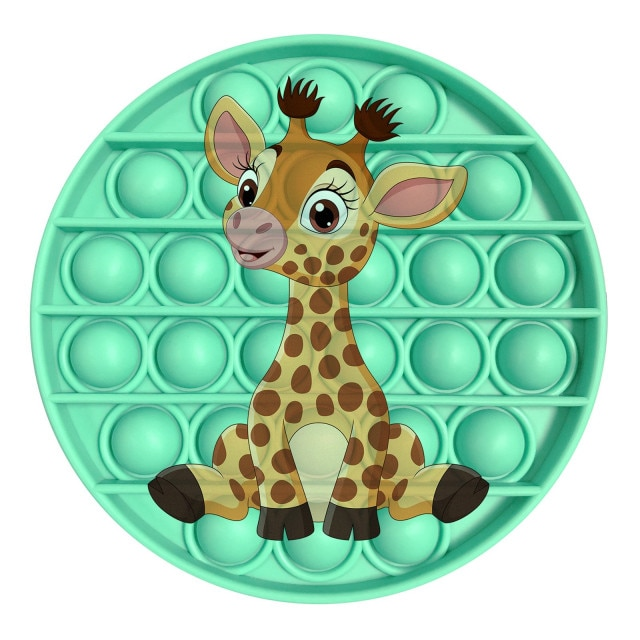 pop it giraffe image fidget toy 7244 - Wacky Track