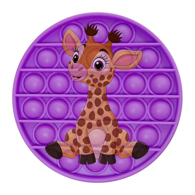 pop it giraffe image fidget toy 8298 - Wacky Track