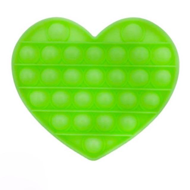 pop it glow heart shapes fidgets toys 1801 - Wacky Track