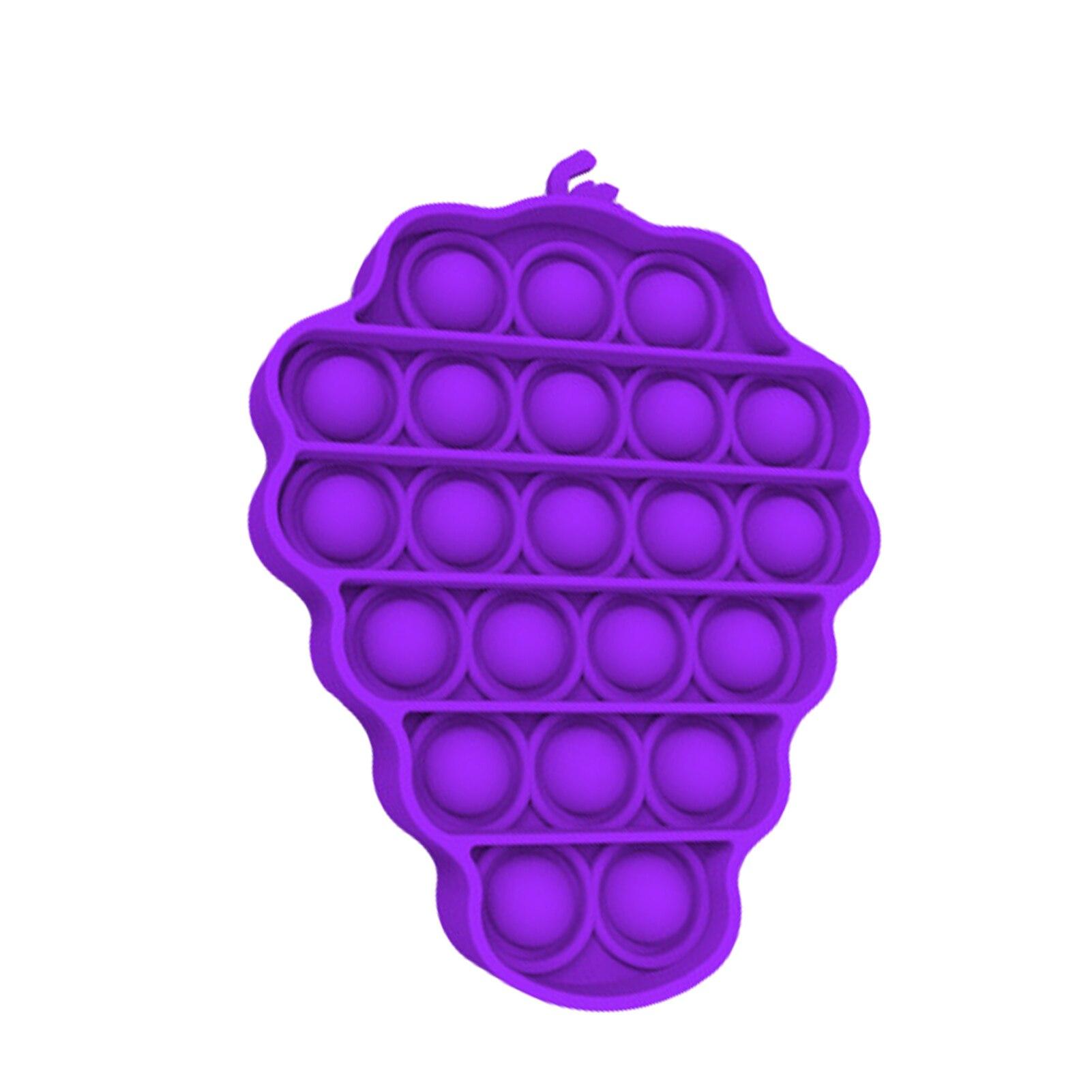pop it grape for stress relief fidget toys 3217 - Wacky Track
