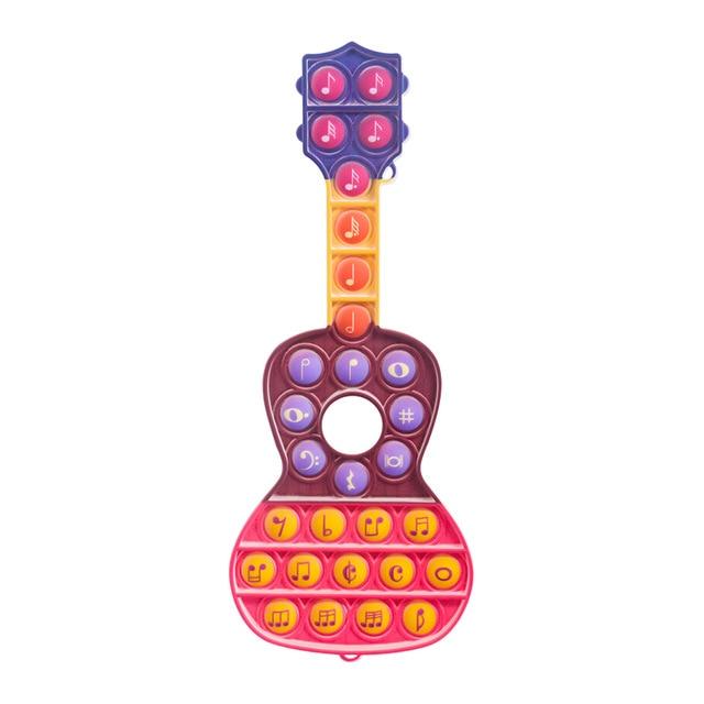 pop it guitar fidget toys 1035 - Wacky Track
