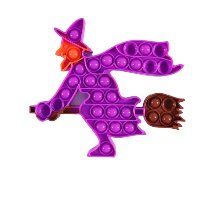 pop it halloween witch fidget toy 3490 - Wacky Track