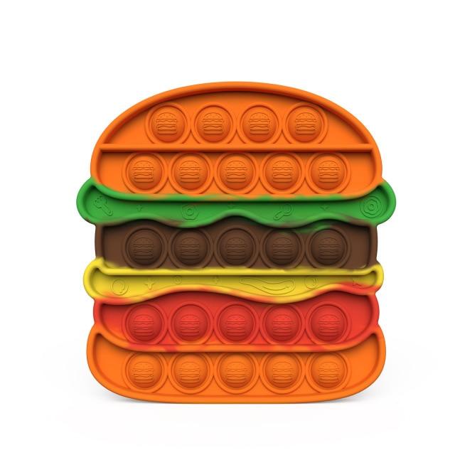 pop it hamburger fidget toy 6076 - Wacky Track