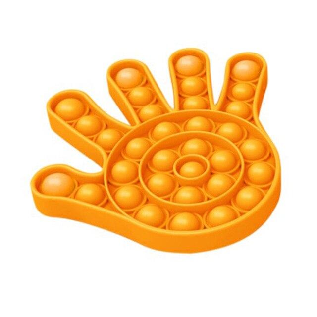 pop it hand shape fidget toys 1676 - Wacky Track