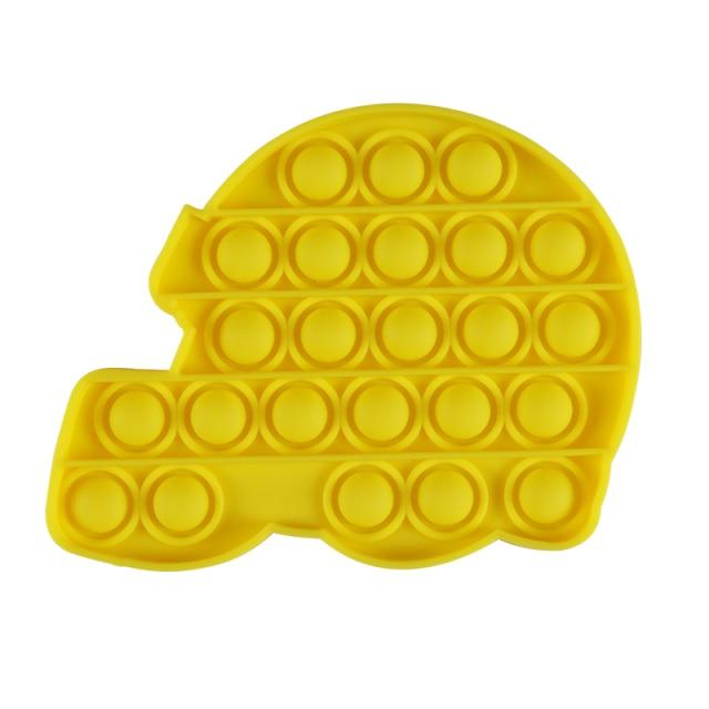 pop it helmet shape fidget toy 6908 - Wacky Track